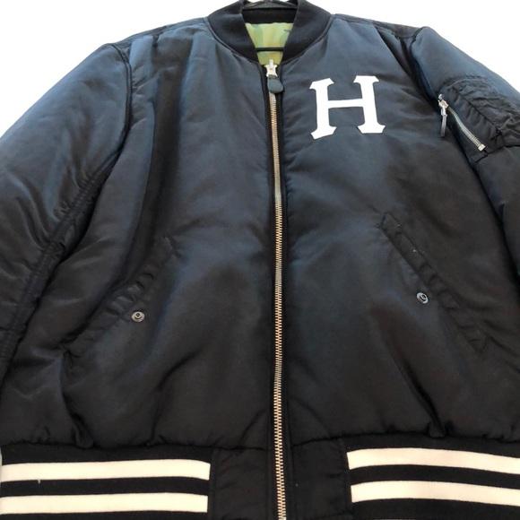big sale great deals 2017 crazy price HUF Jackets & Coats   Reversible Bomber   Poshmark